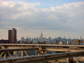 View from the Brooklyn Bridge