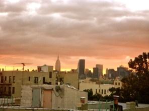 Dachterrassenblick / Queens / New York