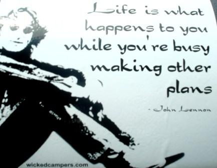 John Lennon is right.