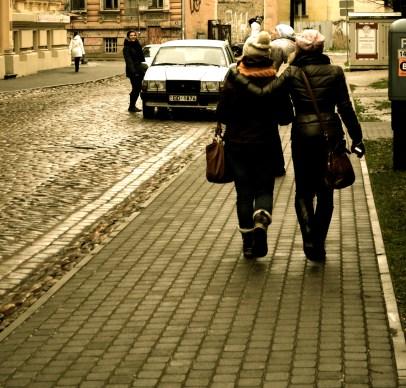 You never walk alone.