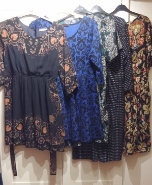 Unworn dresses