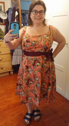 This is a lovely dress, really nice thick stretchy cotton