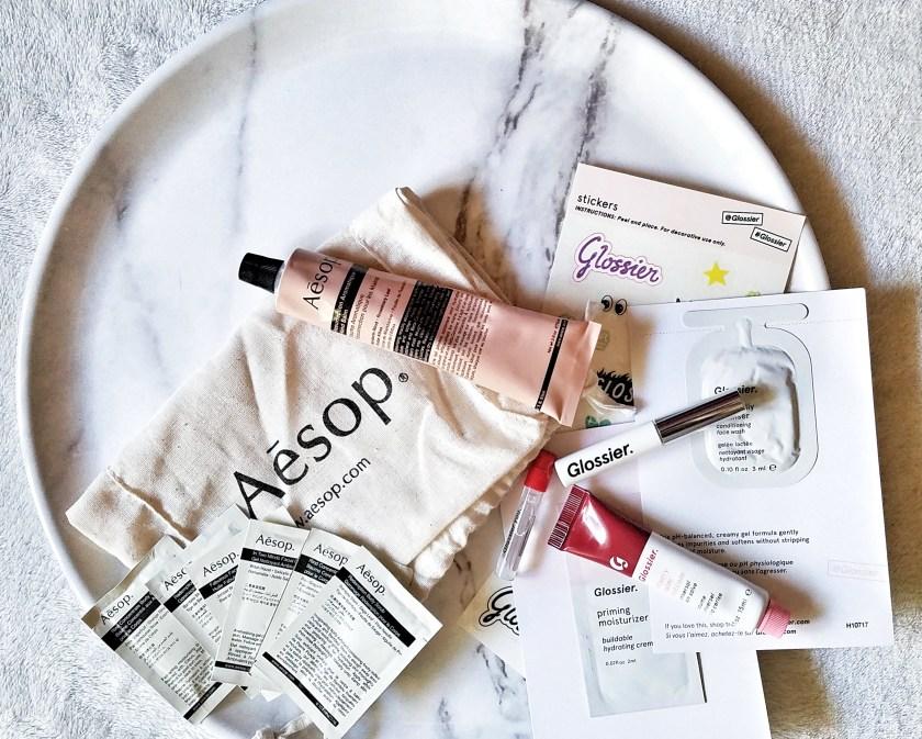косметика Aesop Glossier покупки