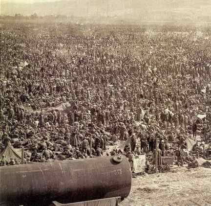german pows eisenhower death camps