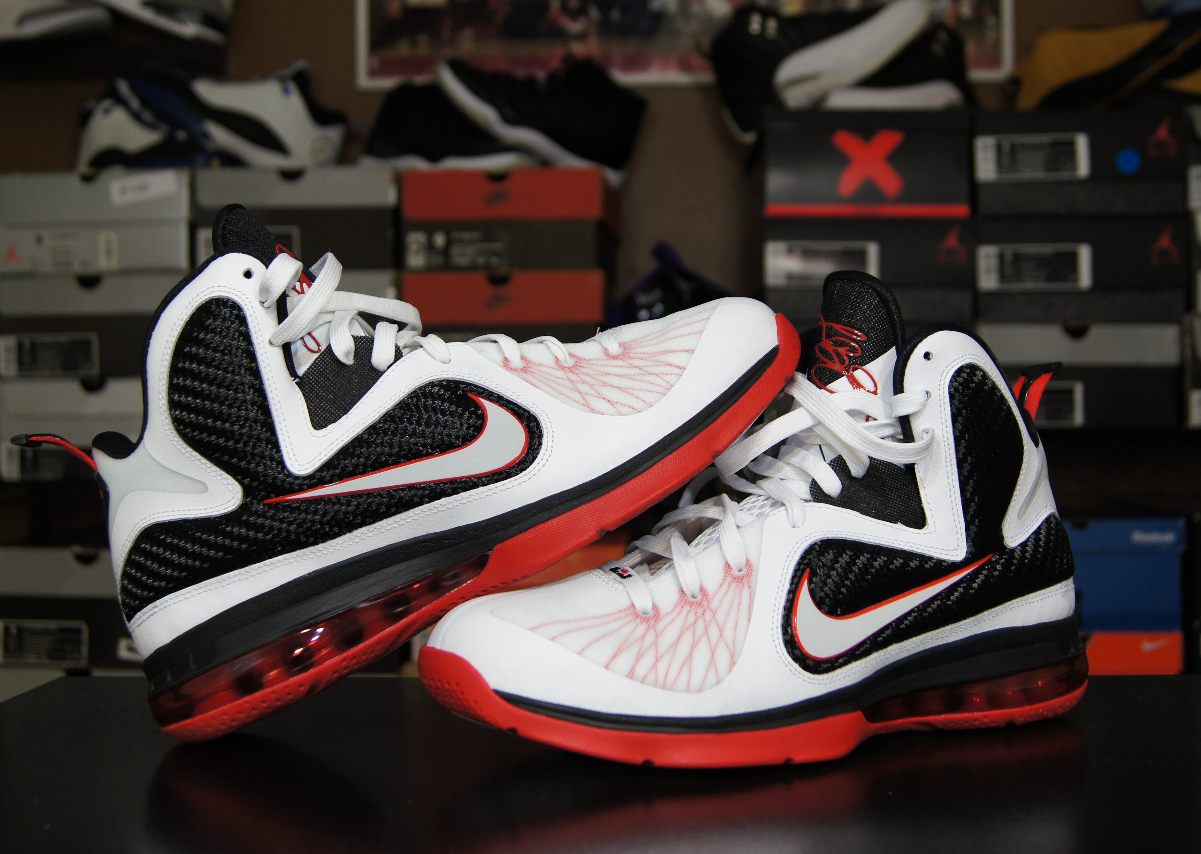 new arrivals 13c67 95b61 First Impression LeBron 9 Scarface