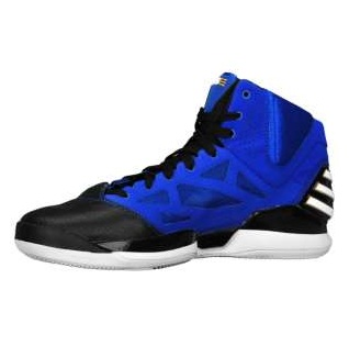 huge discount 48e9d f69f3 adidas-adiZero-Rose-2.5-Blue-Black-White-Available-