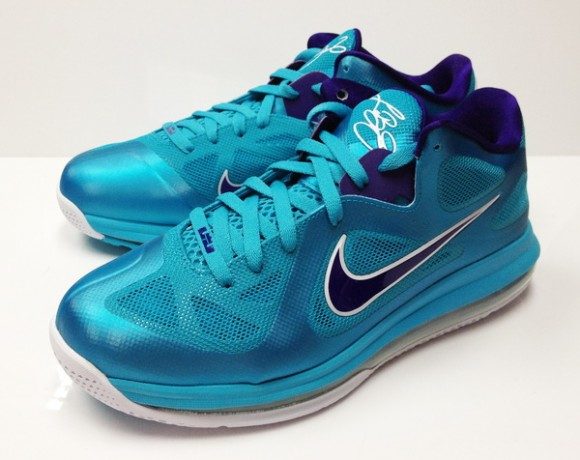 promo code 85028 84387 Nike LeBron 9 Low Summit Lake Hornets – Available Now