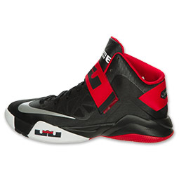 c94aff46a591 Nike LeBron Zoom Soldier VI (6) Black  White- University Red ...