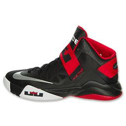 2b5de6653aea8 Nike LeBron Zoom Soldier VI (6) Black  White- University Red ...