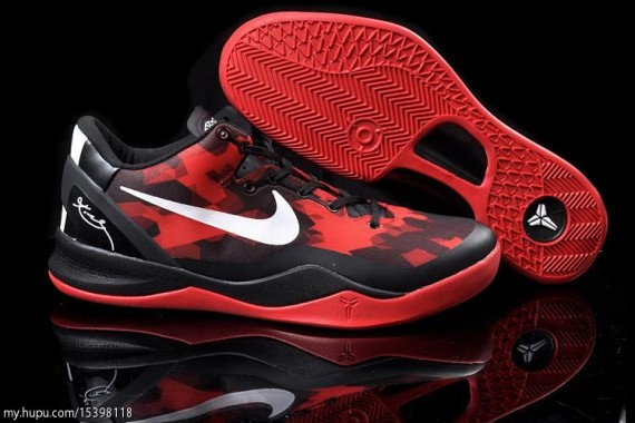 buy online dfa9c 4ab62 Nike Zoom Kobe VIII (8) Black  Red