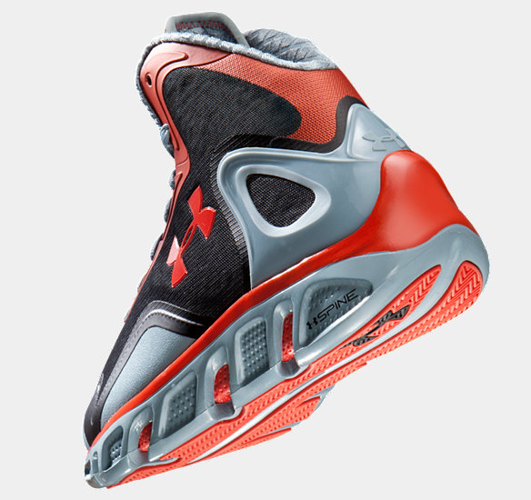 Under Armour Spine Bionic Red Under-Armour-Sp...