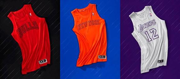 525963dbe NBA   adidas Unveil BIG Color Uniforms for Christmas Day Games ...