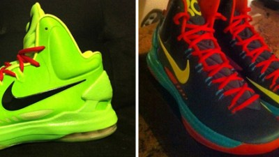 lowest price 808d9 21379 Nike KD V (5) iD  Grinch     Cannon