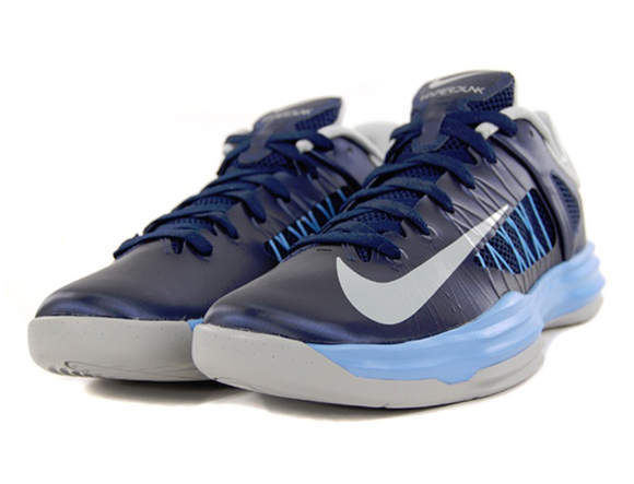 low priced ae870 a5d5c Nike Lunar Hyperdunk 2012 Low Midnight Navy  Grey - University Blue ...