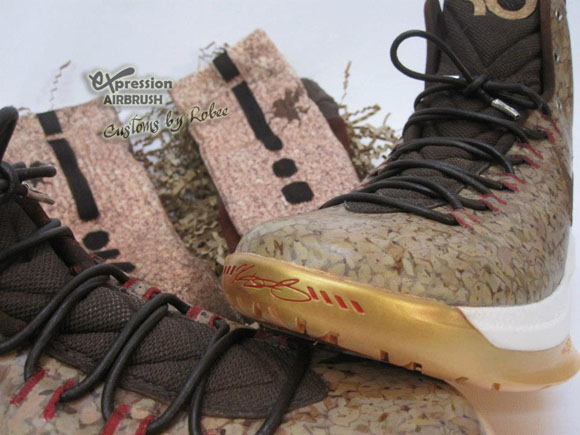 best sneakers a8fb9 d8178 Nike-KD-V-Cork-Custom-3