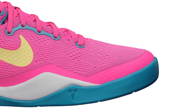 buy popular cdfb3 dbcc9 Nike Kobe 8 SYSTEM GS  Dynamic Pink  - Available Now - WearTesters