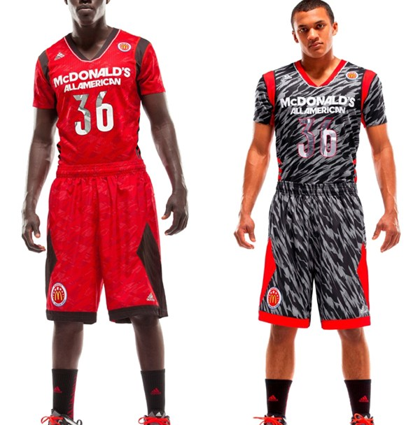 1fb0444e9 adidas Unveils New Uniforms for the McDonald s All American Games ...