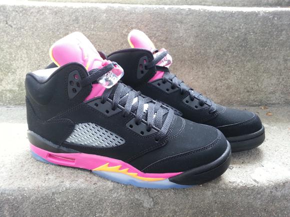 super popular 0cd8b 1a2f1 black citrus pink retro 5