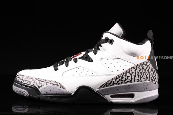 brand new d0e54 00159 Jordan-Son-of-Mars-Low-White-Cement-2