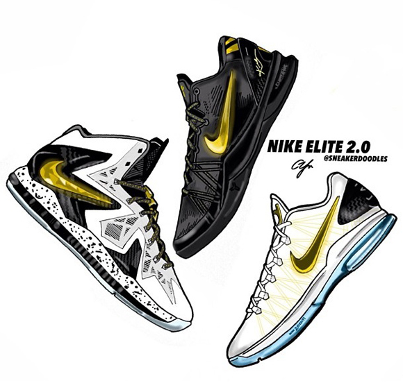 faaaf5d8c527 Nike Elite Series 2.0 Art by SneakerDoodles - WearTesters