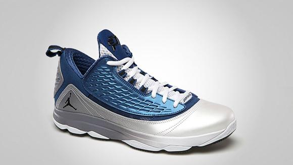 pretty nice 6c898 8de8c Jordan CP3.VI AE True Blue Black - White Cement Grey 2