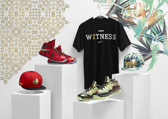 promo code 8c916 53738 Nike Celebrates LeBron Jame's Back-to-Back Championships with Limited  Edition Championship Pack 1