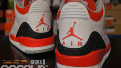 pretty nice 7f130 5c84e Air Jordan 3 Retro  Fire Red  – Detailed Look   Review