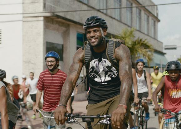 promo code d3f51 a94f9 Nike Basketball   LeBron James Training Day 6