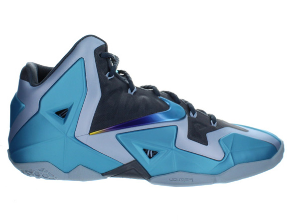 5664efac77a Nike LeBron XI (11)  Gamma Blue  - Available Now - WearTesters