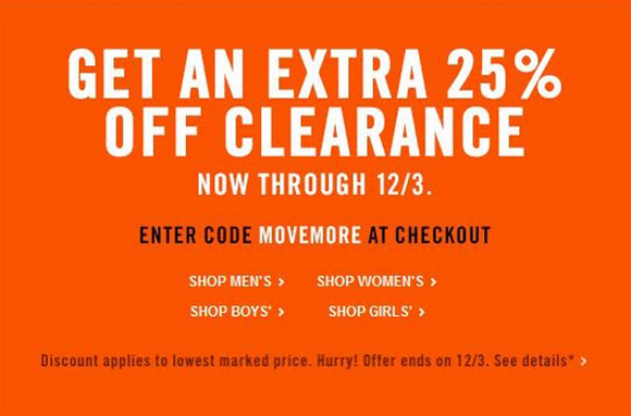 ddade196b Performance Deals: Take Additional 25% Off Already Reduced Clearance ...