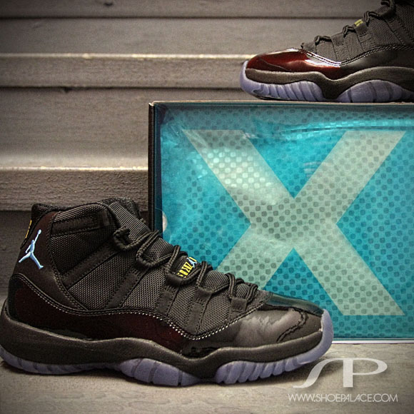 Air Jordan 11 Retro  Gamma Blue  - Detailed Look - WearTesters 029253260