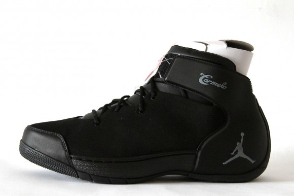 10abe8a1bf ... Jordan Melo 1.5 Retro Black Silver - Detailed Images 1 ...