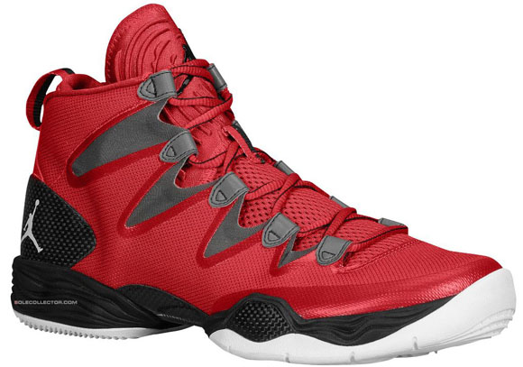 46a59292e8fc8c Air Jordan XX8 SE Gym Red  White - Wolf Grey - WearTesters