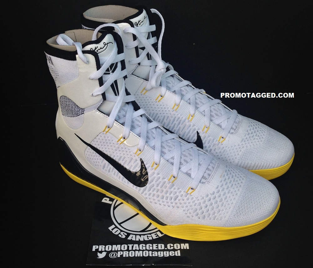 official photos abde1 0d3fb Nike Kobe 9 Elite PE White  Del Sol 1