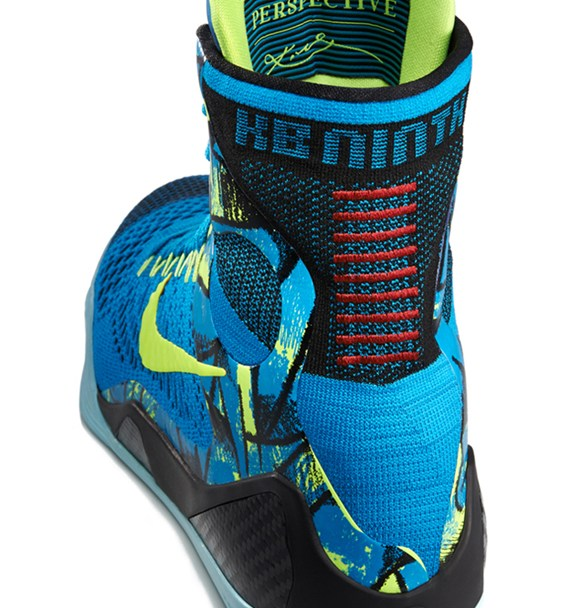 37aa70e731d Nike Kobe 9 Elite  Perspective  - Detailed Look - WearTesters