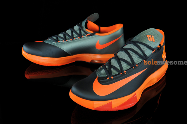 23b555f2385e Nike Kd VI (Anthracite Total Orange Mica Green)- Detailed Images ...