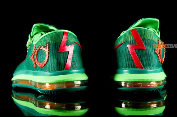ba4593257655 Nike KD VI Elite  Turbo Green  - Detailed Look 3 - WearTesters
