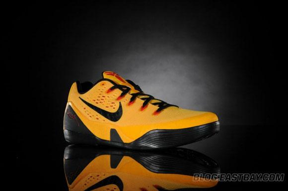 84221ca7881 Nike Kobe 9 Low  Bruce Lee  - Detailed Look - WearTesters