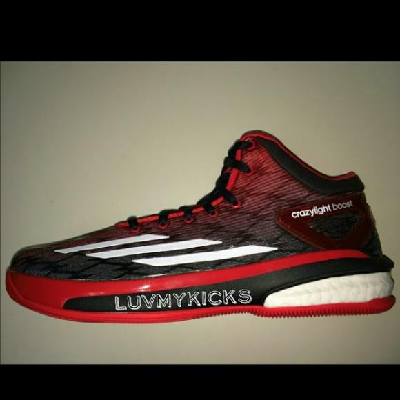 236e5fea6356 ... good adidas crazylight boost 4 black red weartesters e322f 56893