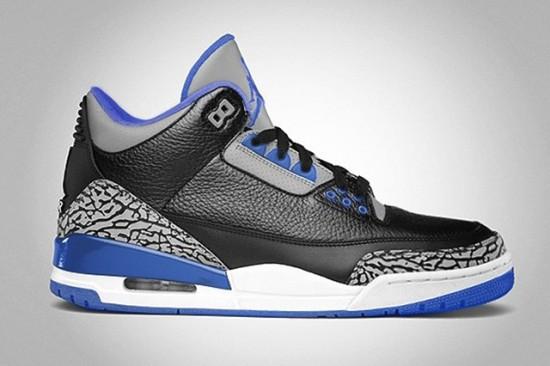 88f993c2c39 Air Jordan 3 Retro 'Sport Blue' – Release Date - WearTesters