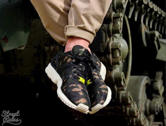 42390d98c adidas Originals ZX Flux  Camo  - First Look - WearTesters