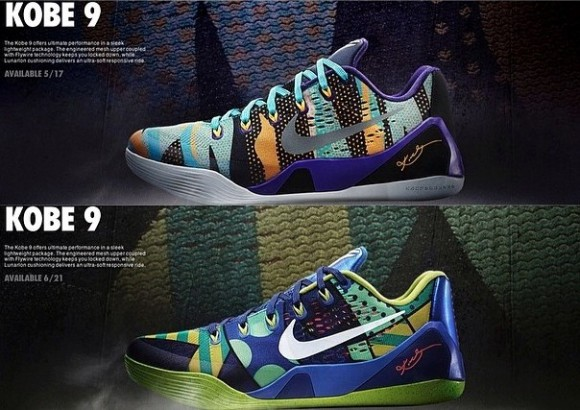 online store f3931 96f17 Two New Colorways of the Nike Kobe 9 EM Spotted + Release Dates ...