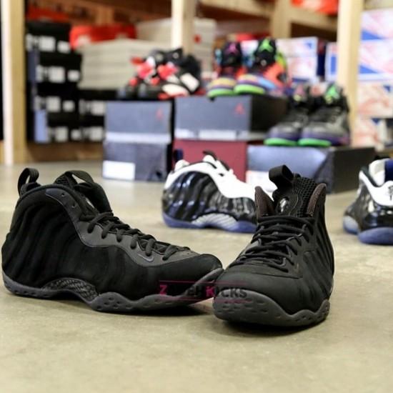 """buy online c34cd 01638 Nike Air Foamposite One """"Black Suede"""" Sample 2"""
