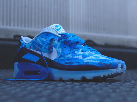 new style ad56e 9c0d4 Nike Air Max 90 ICE  Barely Blue  - Available Now - WearTesters