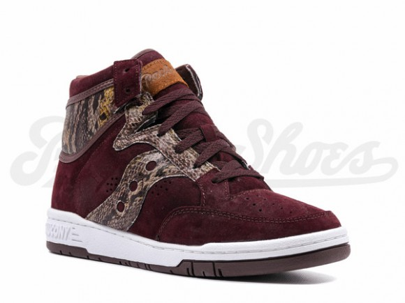 best website ad253 e3103 Packer Shoes X Saucony Hangtime Hi  Brown Snake  - Now Available 3