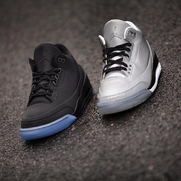 d7d02f7b8e6 Air Jordan 5Lab3 'Black Reflective' - Detailed Look 5 - WearTesters