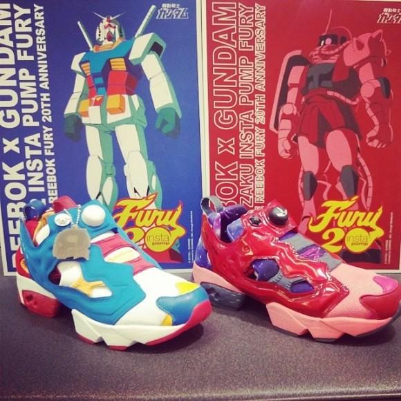 Gundam x Reebok Insta Pump Fury – Another Look - WearTesters 8764556233