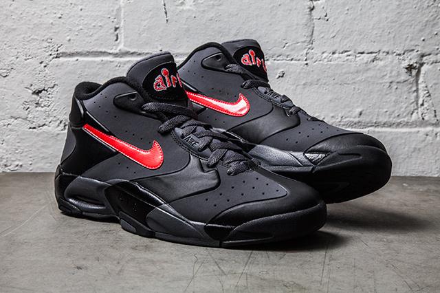 low priced a6839 ffc0e Nike Air Up  14 Black  Grey - Laser Crimson 2