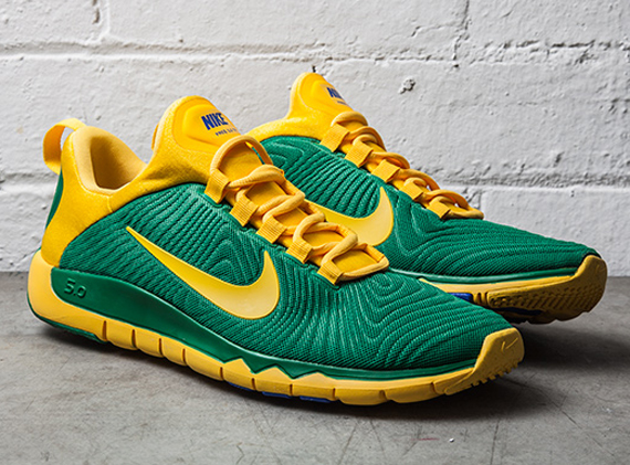 f0ae65460ebe Nike Free Trainer 5.0 NRG - Pine Green Varsity Maize - WearTesters