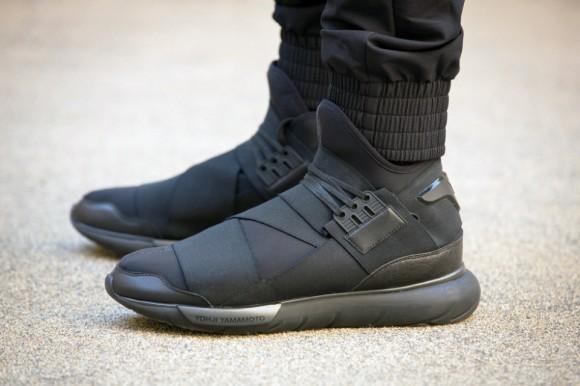 78ac1f88a Y-3 Qasa High  All Black  - First Look - WearTesters